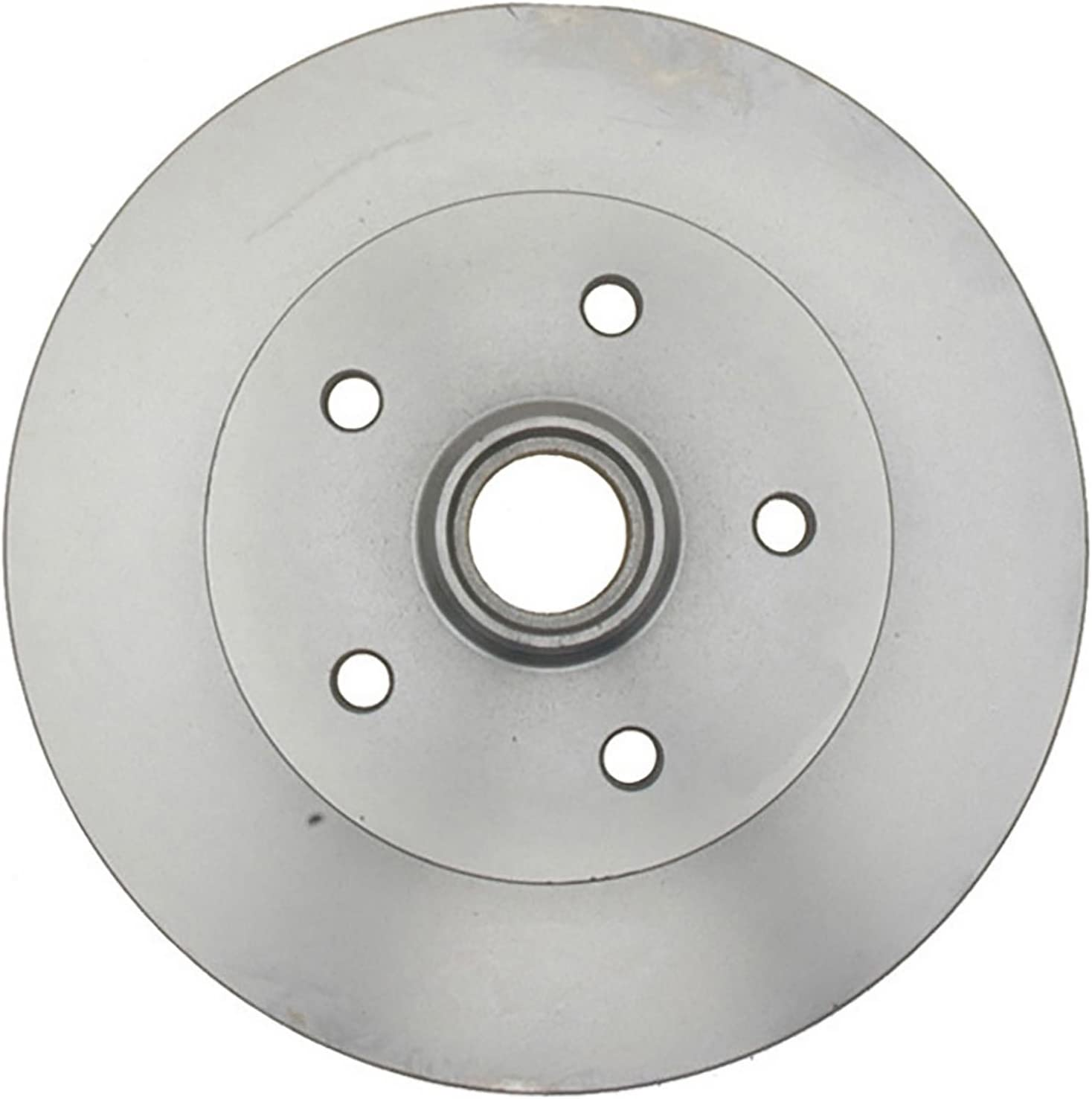 ACDelco Silver 18A250A San Francisco Mall Front Disc Hub Rotor and Assembly Brake Fashion