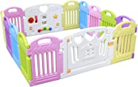 Baby playpen-SYY Baby Playpens/Kids Activity Centre Children's Private Amusement Park Easy to Install and Save Space Multiple Sizes (Size : 160 * 160cm)