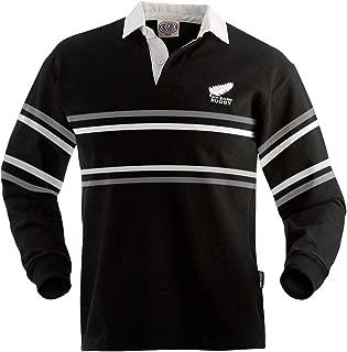 New Zealand Split Stripe Rugby Jersey
