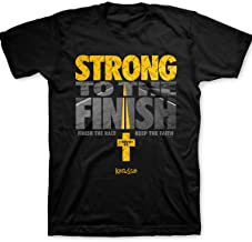Kerusso Strong to The Finish T-Shirt - Christian Fashion Gifts