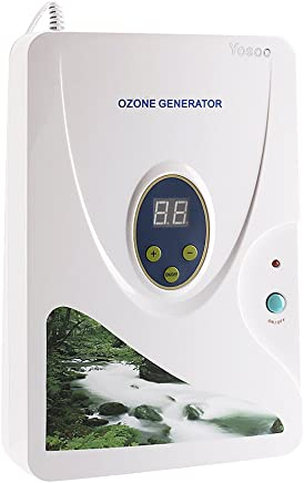 Generatore di ozono digitale, purificatore d'aria (adatto per disinfettare e conservare la frutta)