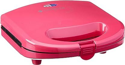 Sanduicheira Minigrill Colors Rosa Doce, Cadence San237-220, Vermelho 220V
