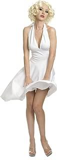 white halter dress like marilyn monroe