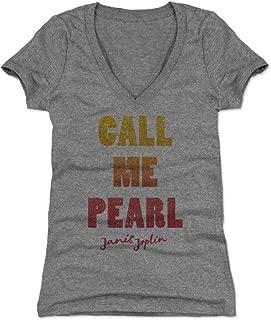 Janis Joplin Women's Shirt - Classic Rock Music Legends - Janis Joplin Pearl