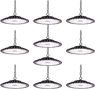 10 er 200W UFO LED Lámpara Alta Bahía, bapro Delgada 20000LM Lámpara Industrial, IP65 Focos Led Interior Techo 6500K,Led I...