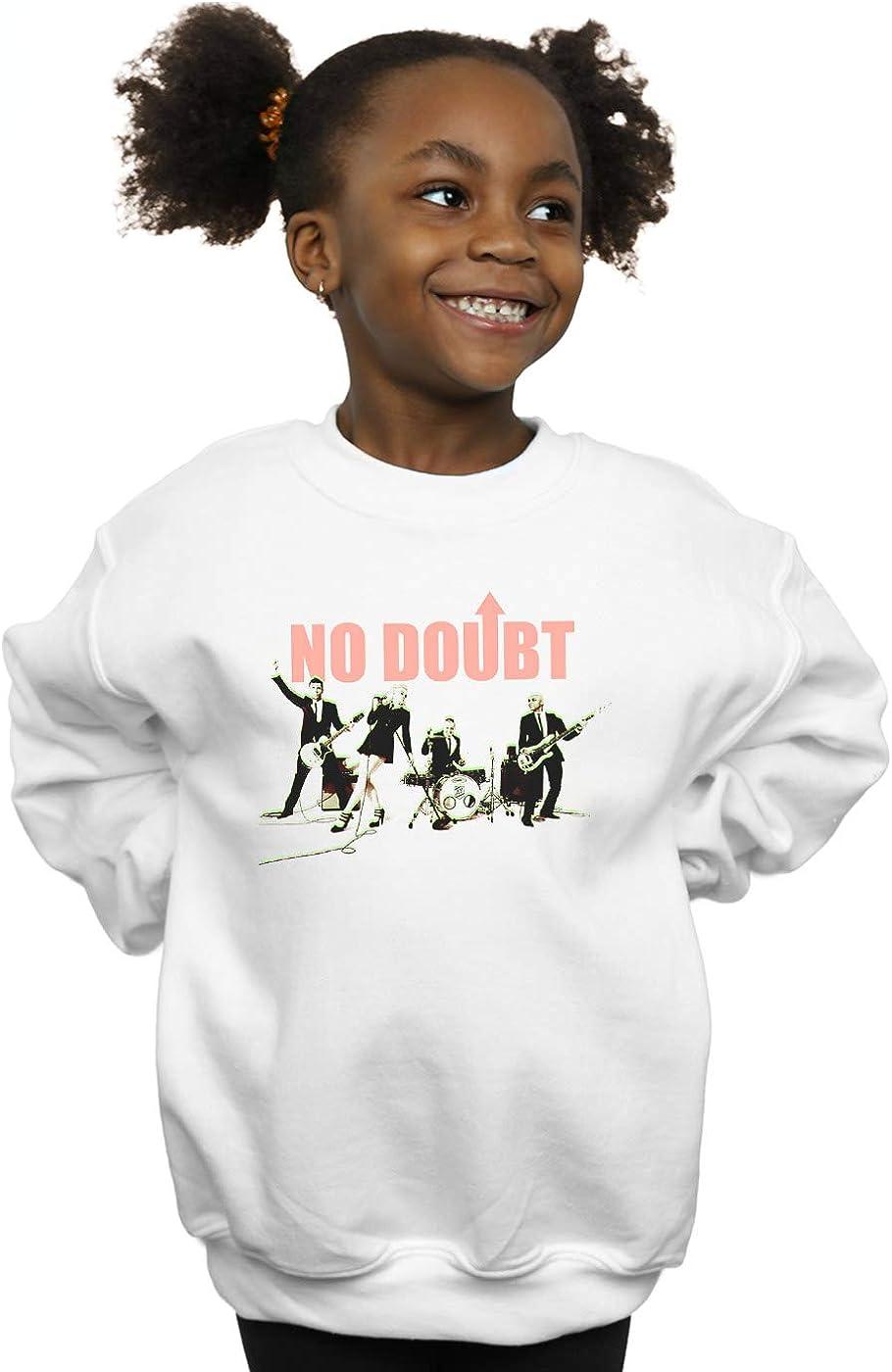 No Doubt Girls Photo Glow Sweatshirt