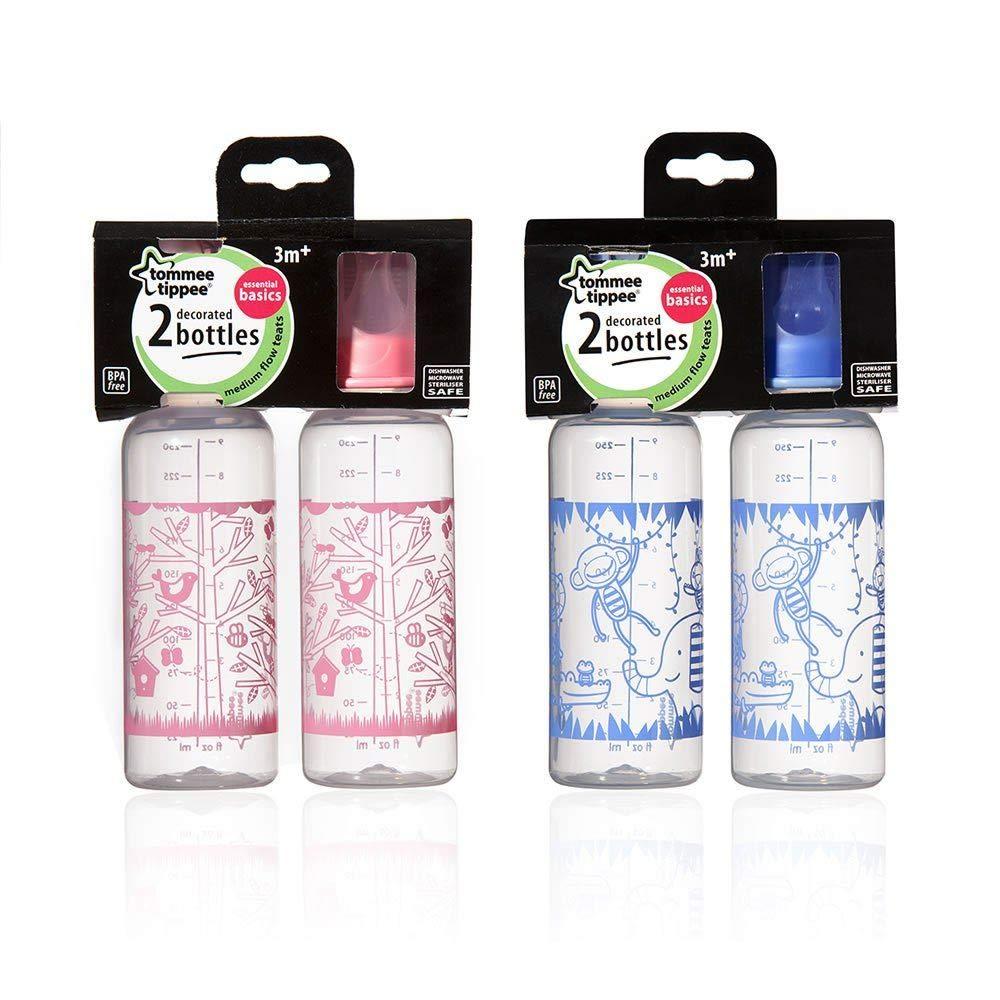 All items free shipping Tommee Tippee Explora Essentials Basics Standard De Sales Neck Bottles