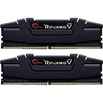 G.Skill 32GB DDR4 PC4-28800 3600MHz Ripjaws V for Intel CL16 (16-19-19-39) Dual Channel kit (2x16GB) Black