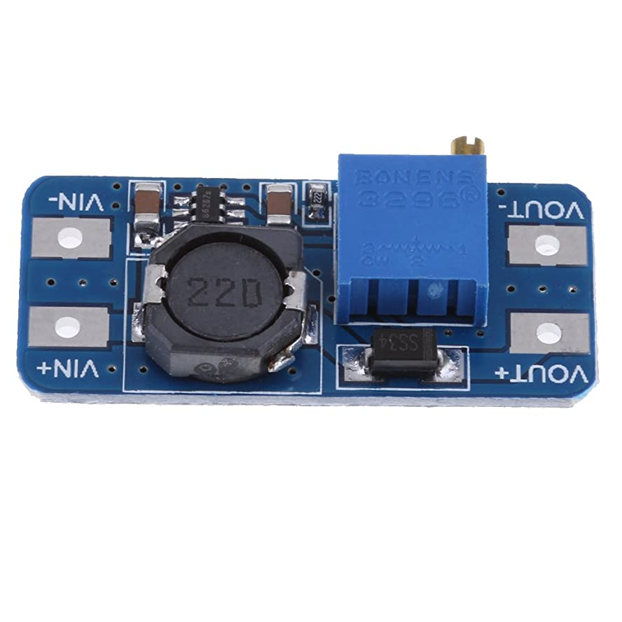 付添人ヒューム座るステップアップ 電源モジュール DC-DC昇圧コンバータ Arduino用 電圧レギュレータ