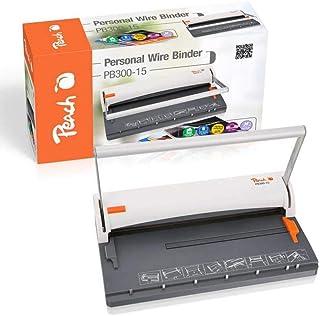 Peach Personal Wire Binder/Closer, 8mm, A4 - PB300-15