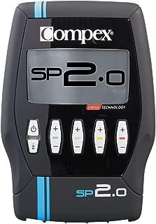 Compex Electroestimulador, Unisex, Negro