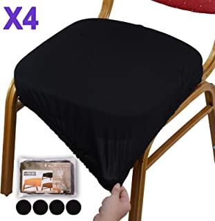 Voilamart Dining Chair Seat Covers Stretch Removable Washable Dining Chair Cover..