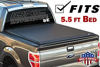 Ionic Premium SE Roll Up Tonneau Truck Bed Cover 2004-2015 Nissan Titan 5.5 Ft Bed