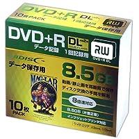 HI-DISC データ用DVD+R DL HDD+R85HP10SC (8倍速/10枚)