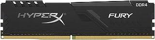 HyperX Fury 8GB 2666MHz DDR4 CL16 DIMM 1Rx8 Black XMP Desktop Memory Single Stick - Model HX426C16FB3/8