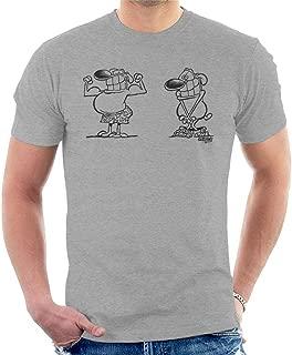 Comics Kingdom Grimmy Macho Dog Men's T-Shirt