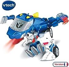 VTECH- Switch & GO Dinos-OXOR Coche/Dinosaurio, 80-195005, Multicolor