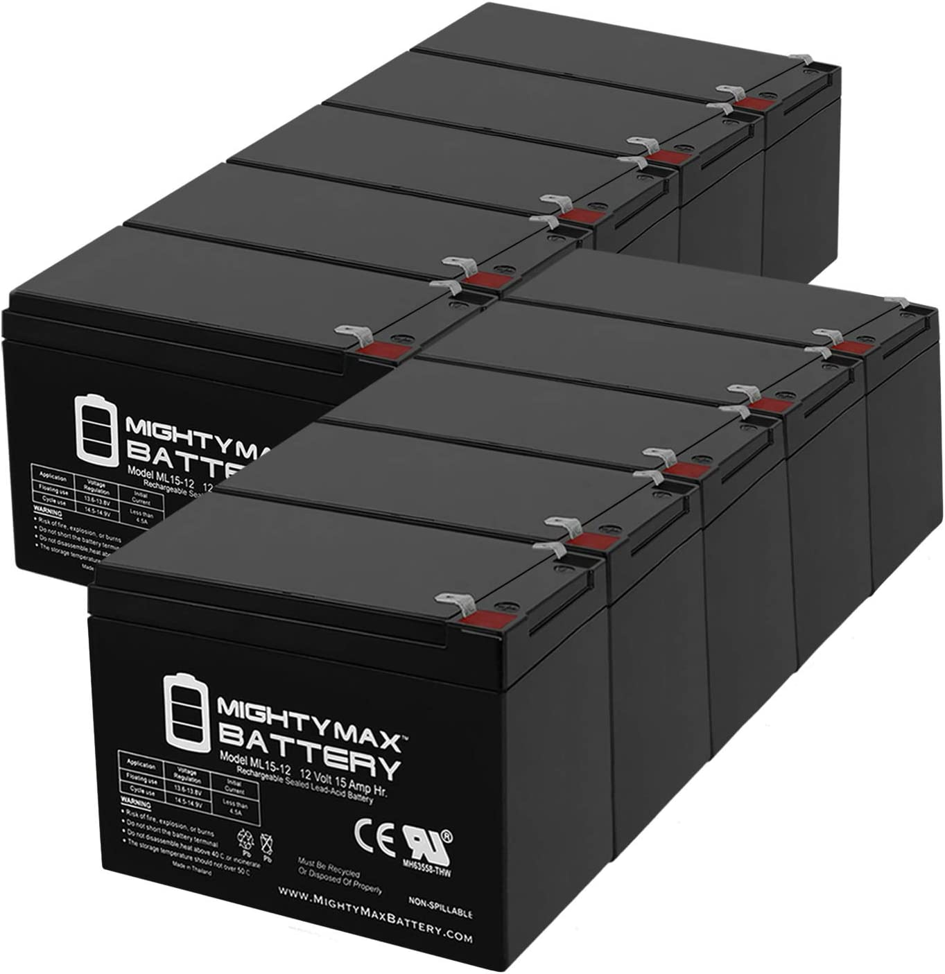 Limited Special Price Mighty Max Battery 12V 15AH Replaces R F2 Mobility Pride depot