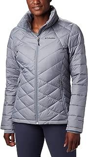 Columbia Women's Heavenly Jacket, Tradewinds Grey, 3X