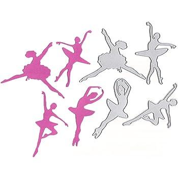 1pc ballet girl Cutting Dies Scrapbooking Embossing Album Paper Card Stencil