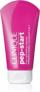 CLINIQUE PEP START 2 IN 1 EXFOLIATING CLEANSER-TRAVEL SIZE