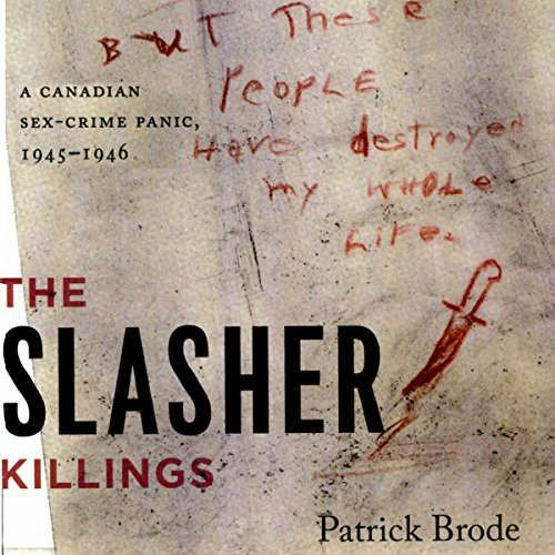 The Slasher Killings audiobook cover art