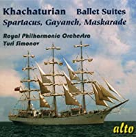 Khachaturian: Famous Ballet Suites - Spartacus, Gayaneh, Maskarade by Royal Philharmonic Orchestra (2010-05-04)
