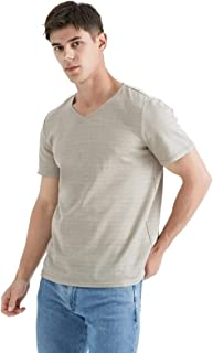 ZMMHW Men's T-Shirt, 100% Silver Fiber Electromagnetic Radiation Protective Clothing Computer/Mobile Phone/TV EMF Shielding