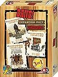 ABACUSSPIELE 38159 - Bang! Expansion Pack Erweiterung, bringt 3 Erweiterungen für erfahrene Revolverhelden ins Spiel, Kartenspiel