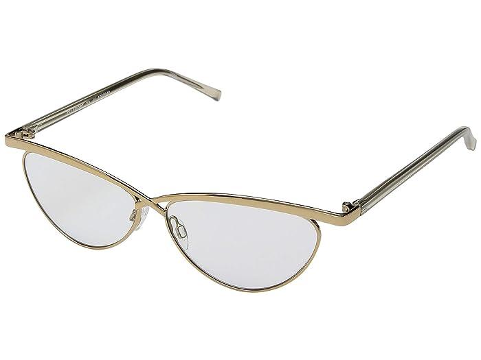 Le Specs Teleport Ya (Gold/Khaki Mono) Fashion Sunglasses