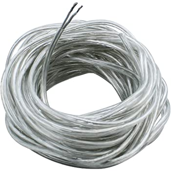 50m Drum Braided SY Cable 2-7 Core 0.75mm 6mm Transparent Control Clear Flex