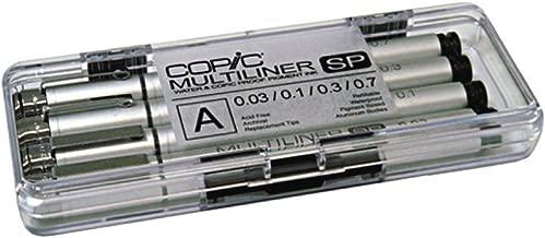 COPIC Multiliner Four Pack- SET A
