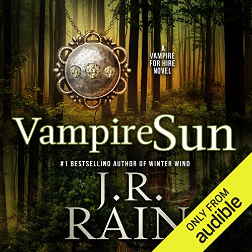 Vampire Sun audiobook cover art