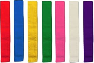 カラーたすき7色セット 運動会 体育祭 競技用品