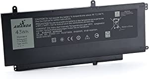 Amanda New D2VF9 Battery Compatible with Dell Inspiron 15 7547 7548 0PXR51 PXR51 11.1V 43WH