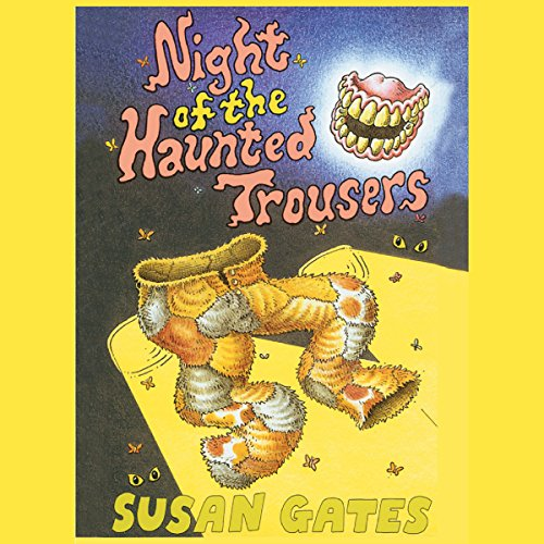 The Night of the Haunted Trousers audiobook cover art