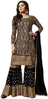 Women's Anarkali Salwar Kameez Designer Indian Dress Party Embroidered Gown