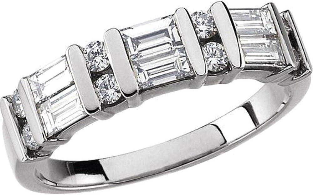 Bonyak Jewelry Platinum 7 Ranking TOP19 8 Sales for sale CTW Anniversary Band Size Diamond in