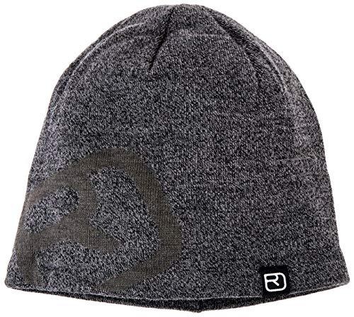 ORTOVOX Unisex-Adult Wonderwool Pro Beanie Hat, Black Sheep, One Size