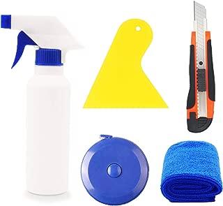 CARTINTS Complete Window Film Installation Kit Window Tint Kit Car Vinyl Wrap Tool Kit with 200ML Spray Bottle