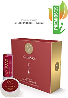 VOLUMAX TRIACTIVE - Tratamiento Antiedad Voluminizador Labios | Balsamo Labial Nocturno + Stick Diurno | Antiarrugas Rege...