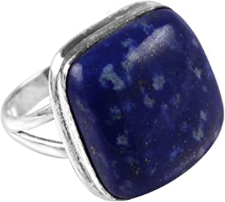 Silver Palace 925 Sterling Silver Natural Sodalite Gemstone Handmade Cabochon Pendants For Women /& Girls