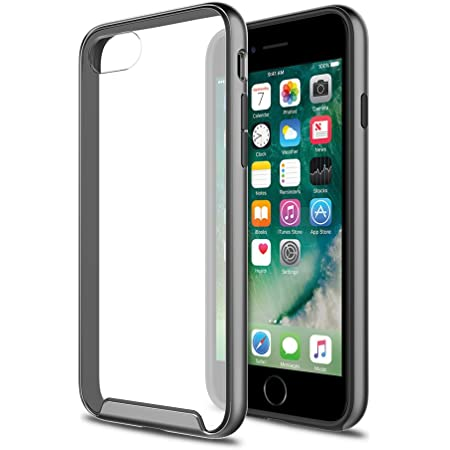 iPhone 8 7 SE 2020 Case, XDesign Inception Case [Rubber Bumper] TPU+PC [Triple Injected] Frame - Durable Stylish Protective Slim Case for Apple iPhone 8 7 6s 6 SE 2020 (4.7 inch) - Grey