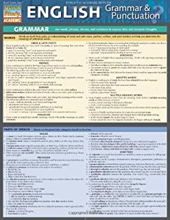 English Grammar & Punctuation (Quick Study Academic) by Inc. BarCharts(2012-05-31)