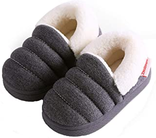 Zapatillas de Estar por Casa para Niñas Niños Otoño Invierno Zapatillas Interior Suave Casa Caliente Zapatos Antideslizant...