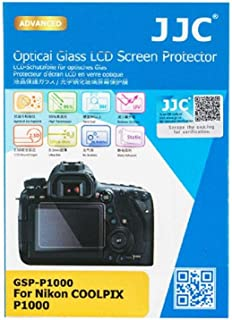 Transparente Crystal Clear Anti-Huella Dactilar Pel/ícula Protectora SWIDO/® Protector de Pantalla para Nikon Coolpix P1000 , 4 Piezas Invisible