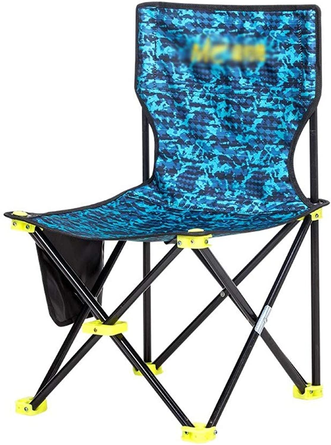 Camping Chairs, Thicken Wear Resistant Outdoor Chair Fishing Stool Adult Chair Picnic Chair Camping Chair Size  38.5  64CM