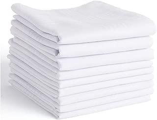 Men's Handkerchiefs,100% Soft Cotton Hankie