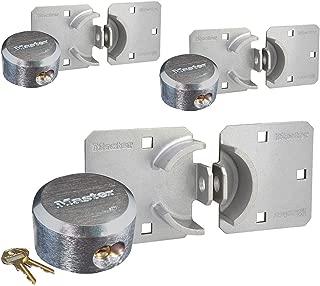 Master Lock Hasp/Hidden Shackle Keyed Alike Padlocks 770-6271KA-3
