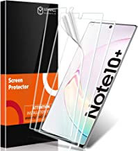 MP-MALL [3-Pack] Screen Protector for Samsung Galaxy Note 10 Plus/Note 10+ / Note 10 Plus 5G, [Bubble Free] [Flexible Film] Protector with Lifetime Replacement Warranty